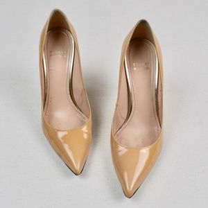 (STUART WEITZMAN) Nouveau Patent Leather Pumps